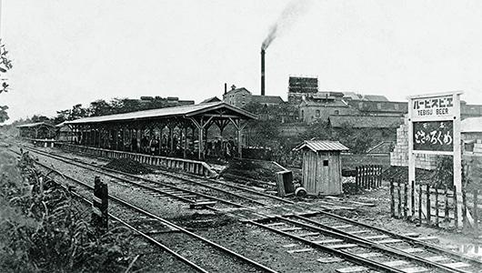 1901年 商品名が駅名、地名に | 歴史・沿革 | サッポロビール