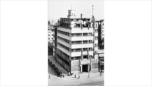 The Dainippon Beer Ginza Building, completed in April 1934