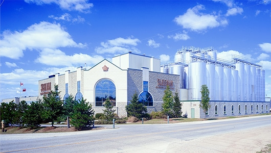 The Sleeman plant in Guelph