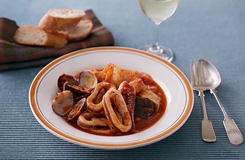 ブイヤーベース風魚介のスープ   レシピ一覧   サッポロビール